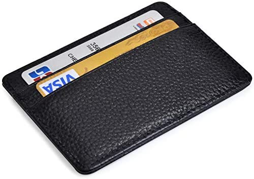 Credit Holder Wallet Leather Minimalist product image