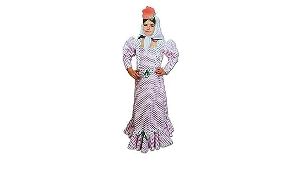 Disfraz de Madrileña o Chulapa para Niñas Talla 1-2 años ...