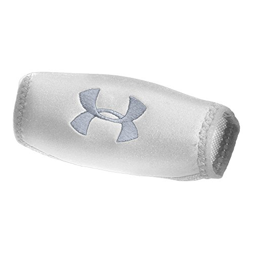 Chin Strap Cover (Under Armour Men's Chin Pad, White/Steel, One Size )