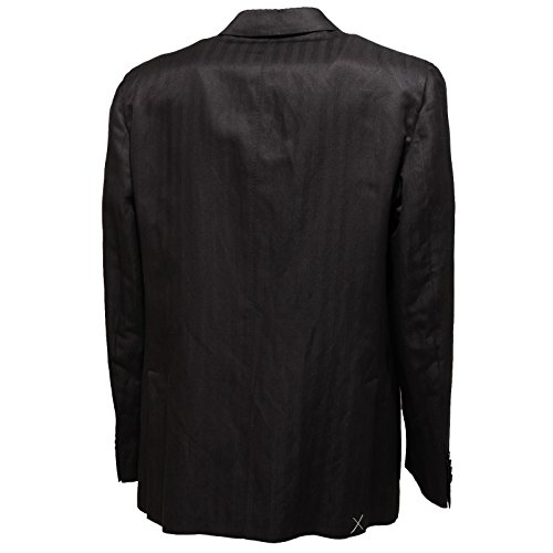 Uomo Giacca Burnett Nero Giacche Nera Men Seta 7356l Lino Jackets FORZqpqT7