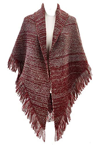 (Apparel WINE LARGE TRIANGLE WRAP Fabric Acrylic 1004290080)