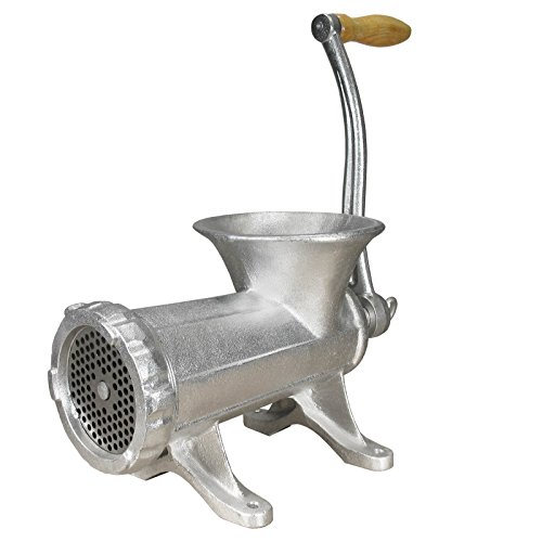 Manual Tinned Meat Grinder - Weston 36-2201-W #22 Deluxe Manual Meat Grinder
