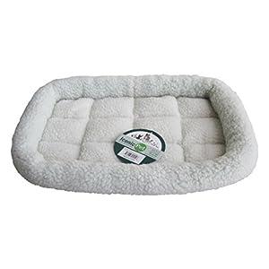 Iconic Pet Premium Synthetic Sheepskin Handy Bed, X-Large, White