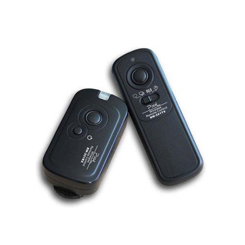 Pixel Pro Digital & Film Camera 100M Wireless Shutter Remote Control Release for Canon EOS 60D 1000D 550d 500D 450D 400D 350D 300D Powershot Pentax Samsung Contax , replaces Canon RS-60E3