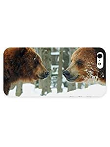 3d Full Wrap Case For Sony Xperia Z2 D6502 D6503 D6543 L50t L50u Cover Animal Brown Bears In The Snow