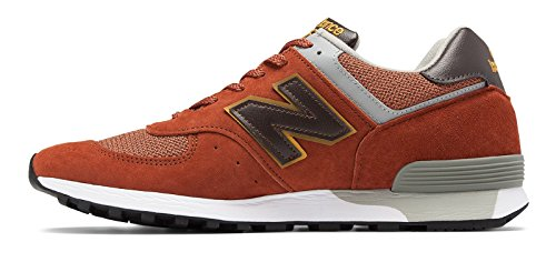 (ニューバランス) New Balance 靴?シューズ レディースライフスタイル 576 Made in UK Brick with Grey ブリック グレー US 8 (25cm)
