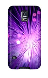 Series Skin Case Cover For Galaxy S5(cool Purple)