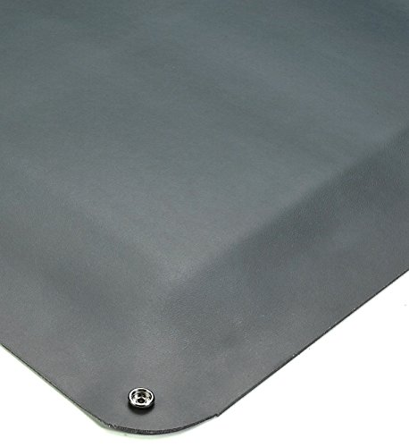 Floor Esd (American Floor Mats Static Dissipative Grey 4' x 6' Anti-Fatigue 1/2 inch Thickness Comfort Mat)