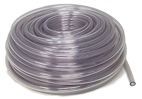 Sealproof Unreinforced PVC Food Grade Clear Vinyl Tubing, 3/8-Inch ID x 1/2-Inch OD, 100 FT from Sealproof