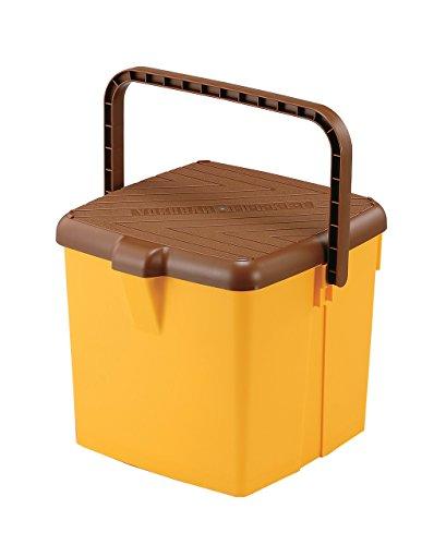 [해외]イノマタ 화학 편리한 물통 코모도 13 리터 옐로우 / Innomata Chemical Convenient Bucket Komodo 13 liters Yellow