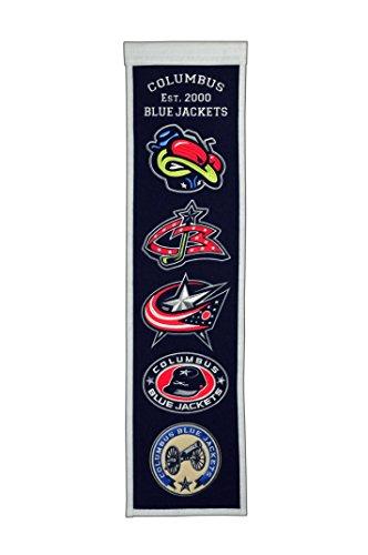 Winning Streak NHL Columbus Blue Jackets Heritage Banner