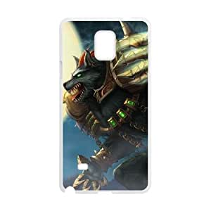 Samsung Galaxy Note 4 Phone Case Cover White League of Legends Grey Warwick EUA16002139 Phone Case Cover Durable Unique