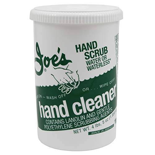 Joe's Hand Cleaner 401-P 6 Pack Scrub Waterless Hand Cleaner, 6 Pack