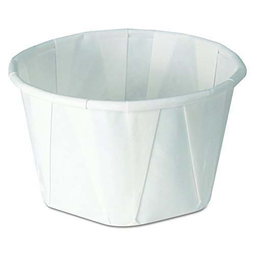 Solo 325-2050 3.25 oz Treated Paper Portion Cup (Case of 5000)