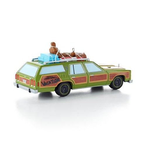 amazoncom wagon queen family truckster national lampoons christmas vacation 2013 hallmark ornament home kitchen - National Lampoons Christmas Decorations
