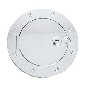 Rugged Ridge 11425.04 Chrome Locking Fuel Door Cover