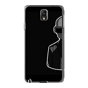 Shockproof Cell-phone Hard Cover For Samsung Galaxy Note3 (nGQ12966nmWO) Unique Design Stylish Daft Punk Band Pattern