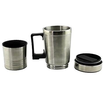Taza Del Calentador De Agua, Coche De La Taza De La Calefacción Del Coche 12V