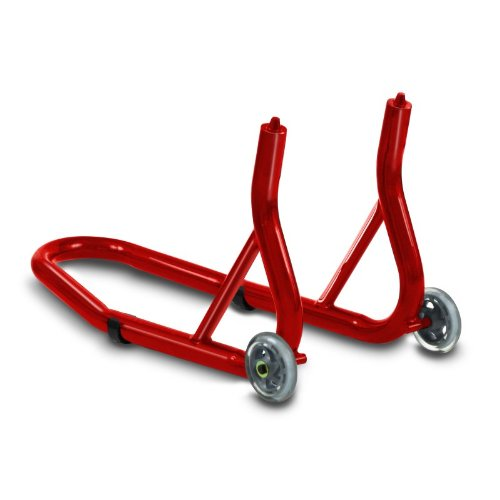 Motorcycle Paddock Stand ConStands Front Fork red for Kawasaki ER-5 Twister, ER-6f, ER-6n, Estrella 250, GPX 600/ 750 R, GPZ 1100, GPZ 500 S, GPZ 600/ 750/ 900 R