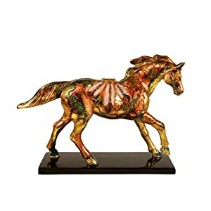 Trail of Painted Ponies Golden Feather Pony Figurine 6.13-Inch