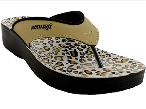Aerosoft Womens Alyta Sandal Gold LgaS2Ts