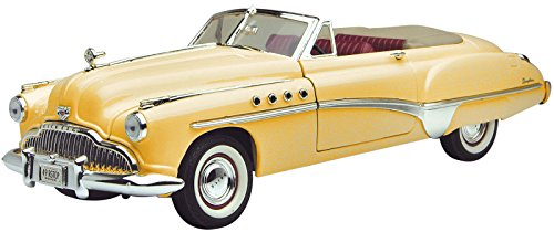 Motor Max: 1949 Buick Roadmaster Convertible 1:18 Scale Die-Cast (Buick Convertible Cars)