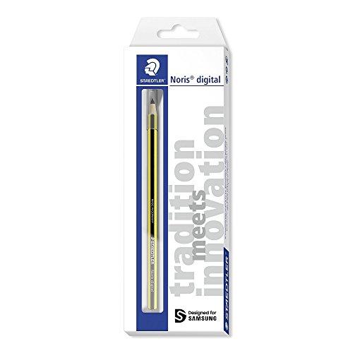 Staedtler 180 22-1 Noris Digital Stylus Pencil, Yellow, Black
