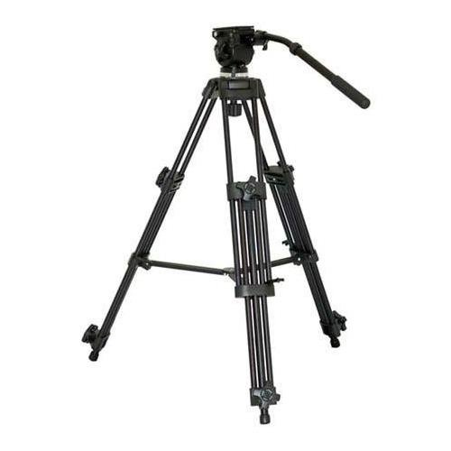 VariZoom VZ-TK75A Aluminum Video Tripod with 65mm Fluid Head and Carry Case by VariZoom