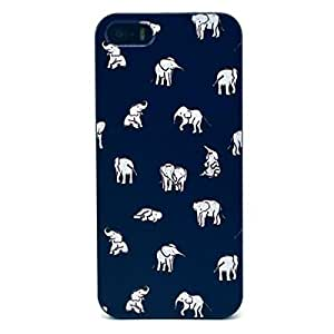 """Cute funny Picture Hard Back Case Cover Skin For Apple iPhone5 5G 5S -White Elephant various states (Package includes: 1 X Screen Protector and Stylus Pen image""""Gift_Source"""") by ruishername"""