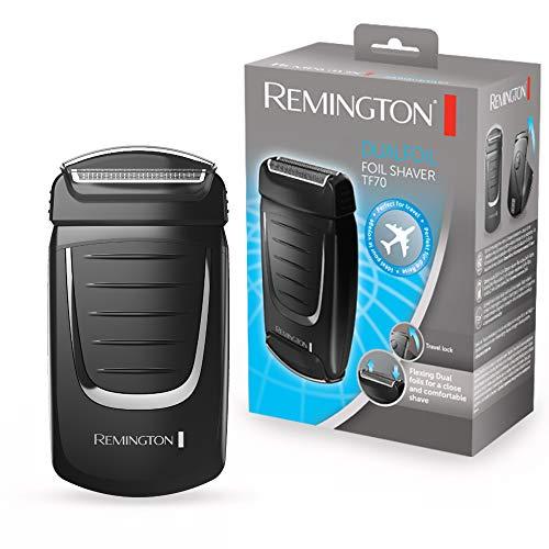 Remington TF70 Foil shaver Negro rasuradora para hombre - Afeitadora (Máquina de afeitar de láminas, Negro, Batería,...