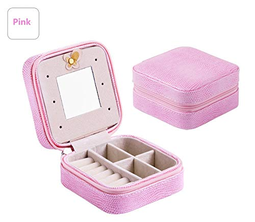 0b36a9dca170 Amazon.com: Kisame Cosmetic Mirror - Portable Jewelry Case Packing ...