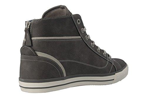 Mustang Damen Hohe Sneakers Grau