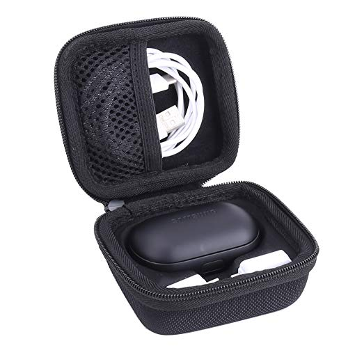 Hard Storage Case for Samsung Gear IconX(2018 Edition) Bluetooth Earbuds by Aenllosi (Black)