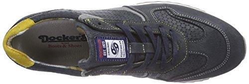 Bleu Espadrillas Grau Blu 208662 Uomo 662 Dockers38Eb002 Navy x54qIYwq6