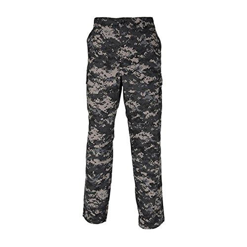 Propper Genuine Gear BDU Trousers, 60/40 Cot/Pol, Made in Haiti, Digital Subdued Urban - Large, (Trousers Cotton International Propper)