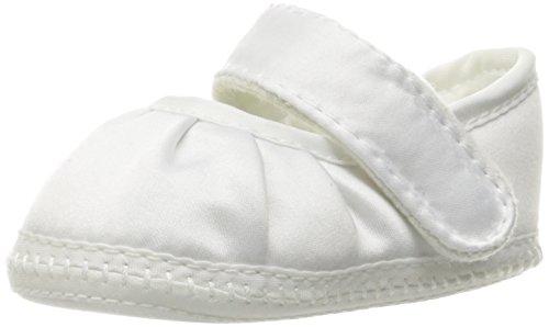 Baby Deer Keepsake MJ Crib Shoe (Infant),White,3 M US Infant