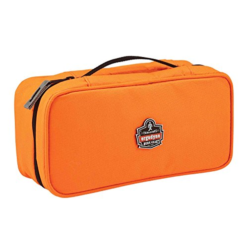 Ergodyne Arsenal 5875 Clamshell Organizer Zippered Pouch, Large, Orange by Ergodyne