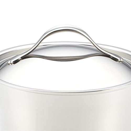 Anolon Nouvelle Copper Stainless Steel 4-Quart Covered Casserole by Anolon (Image #3)