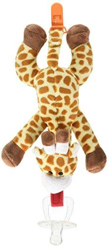 BabyHuggle Giraffe Pacifier Detachable Silicone product image