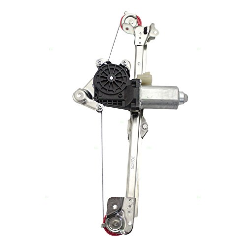 Drivers Rear Power Window Lift Regulator with Motor Assembly Replacement for Chevrolet Oldsmobile 15223280 AutoAndArt