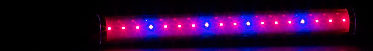 Pflanzenlampen 520 Lumen Lunartec Pflanzlicht LED-Pflanzenunterbauleuchte mit Rot-Blau-Lichtkombination