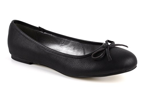 5 Range 8 Flat 45 to Large Shoes Sizes EU On AM5049 Soft Slip Machado Shiny Black 42 Fabric 10 to Size Andres UK nRxOwqFaPR