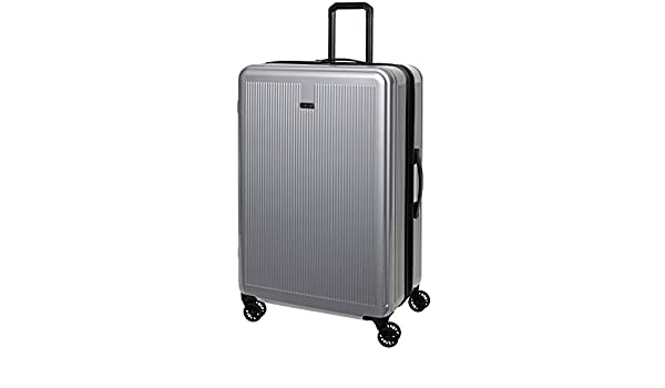 32e7fbf3f Amazon.com | Revo Luna Hardside 3 Piece Luggage Set Spinner Silver Made in  the USA! | Luggage Sets