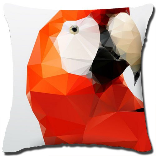 """Pop Art Throw Pillow Cover Classical Cotton Linen Square Decorative Throw Pillow Cover Made From 100% High Quality Cotton Linen/Measures 18"""" x 18""""/Does Not Include Pillow Insert."""