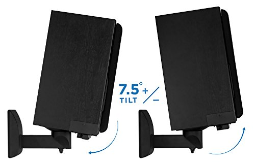 mount it speaker wall mounts pair of universal side clamping import it all. Black Bedroom Furniture Sets. Home Design Ideas