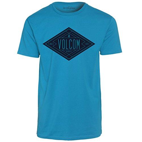 Volcom Afron Basic Short Sleeve T-Shirt Medium Atlantic