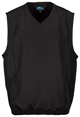 Windproof Vest Waterproof - Tri Mountain Big and Tall Windproof Water-Resistant Vest. J2612 Legend