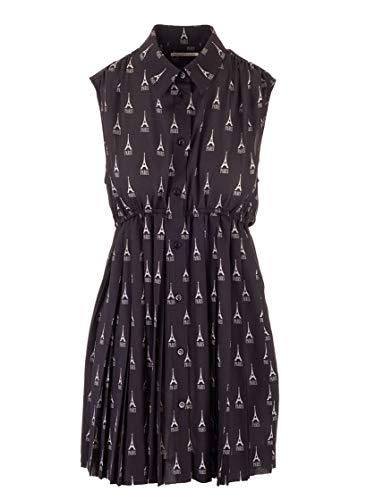 Balenciaga Luxury Fashion Womens 595034TGL961000 Black Dress | Fall Winter 19