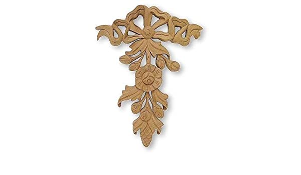 Wood appliques onlays in patterns
