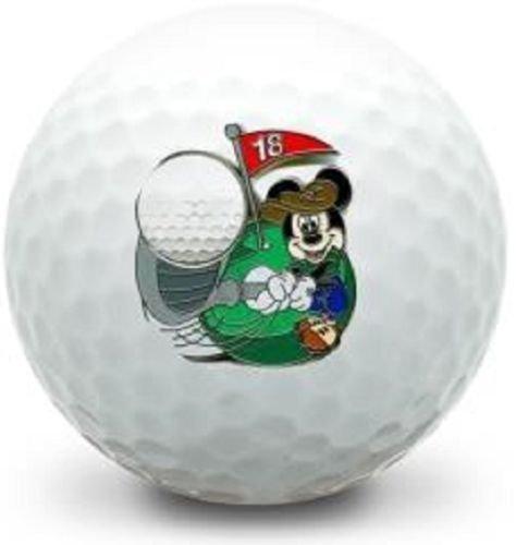 3 Dozen (Mickey Mouse Golfing Logo) Callaway Mix Mint / AAAAA Golf Balls ()
